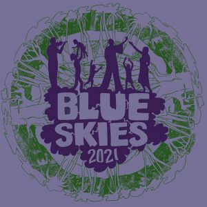 The Blue Skies 1991 t-shirt by Rebecca Barclay, who graciously re-created her design!